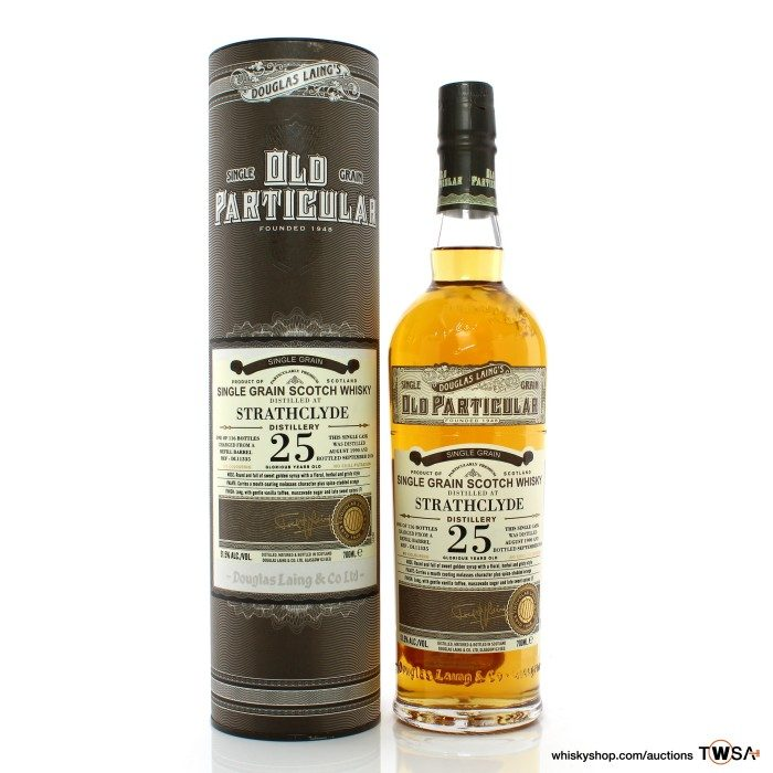 Strathclyde 1990 25 Year Old Single Cask #11335 Douglas Laing Old Particular