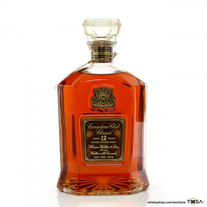 Canadian Club 12 Year Old Classic