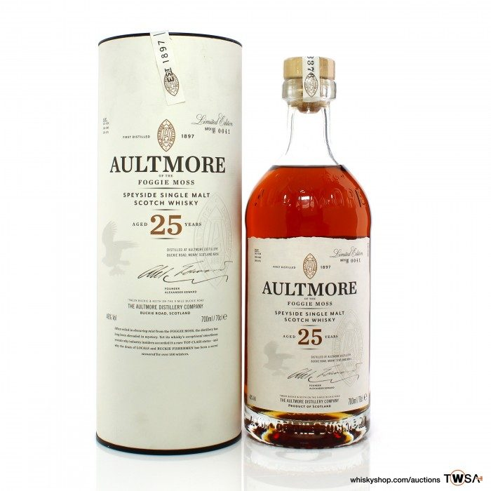 Aultmore 25 Year Old