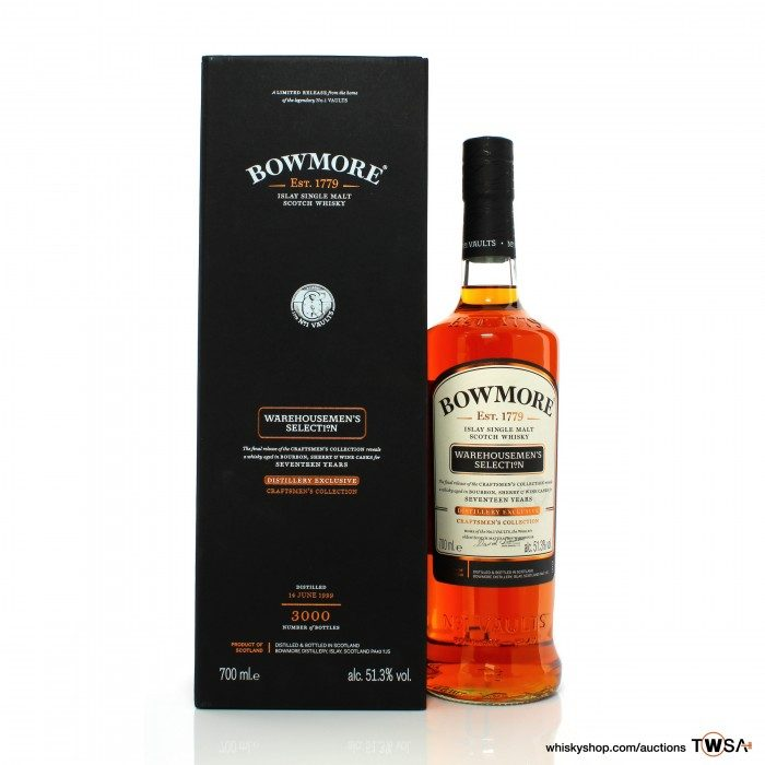 Bowmore 1999 17 Year Old Craftmen's Collection - Warehousemen's Selection