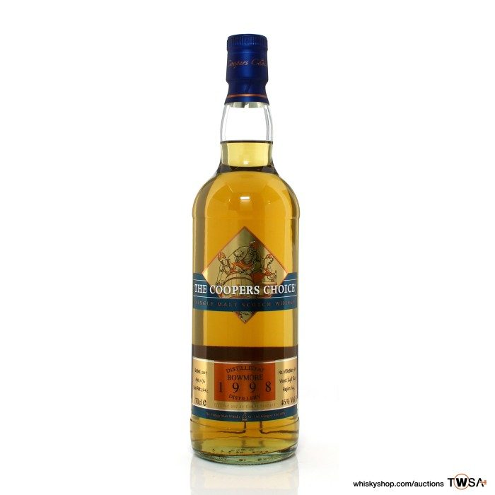 Bowmore 1998 10 Year Old Single Cask #3842 The Coopers Choice