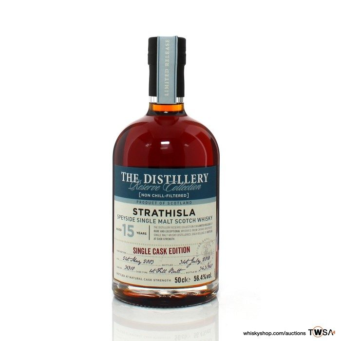 Strathisla 2003 15 Year Old Single Cask #36910 Distillery Reserve Collection