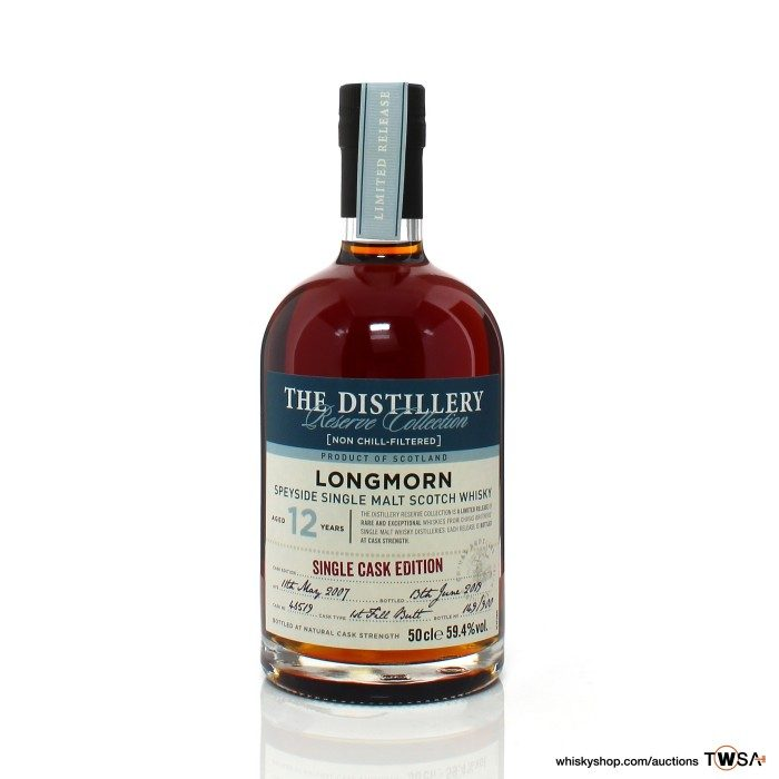 Longmorn 12 Year Old Single Cask #46519 The Distillery Reserve Collection
