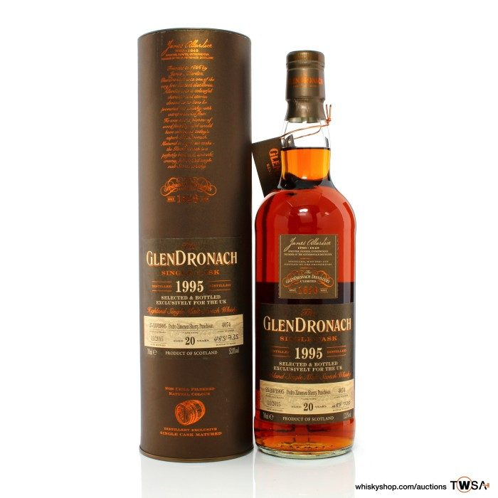 GlenDronach 1995 20 Year Old Single Cask #4074 - UK Exclusive