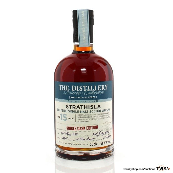 Strathisla 2003 15 Year Old Single Cask #36910 The Distillery Reserve Collection