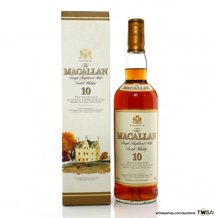 Macallan 10 Year Old Sherry Wood Early 2000s