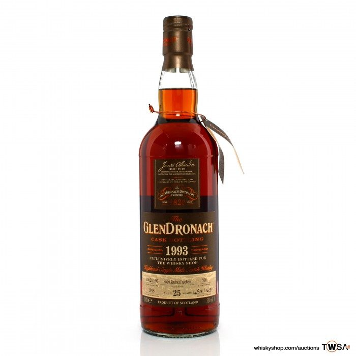 GlenDronach 1993 25 Year Old Single Cask #395 - The Whisky Shop