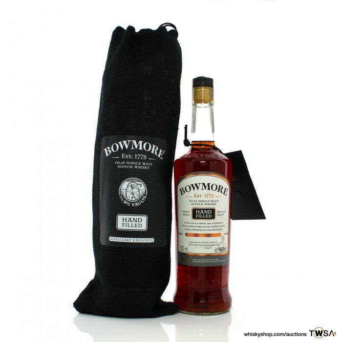 Bowmore 1995 24 Year Old Single Cask #1558 Hand Filled