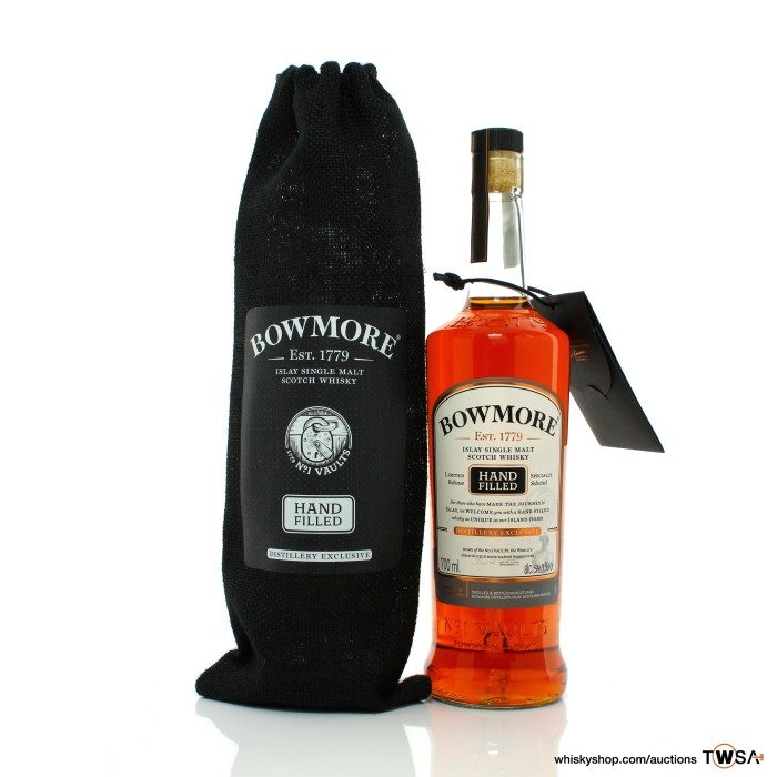 Bowmore 1999 20 Year Old Single Cask #26 Hand Filled