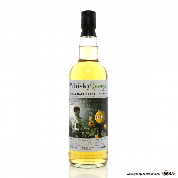 Glen Ord 2007 13 Year Old Whisky Sponge Edition No.26