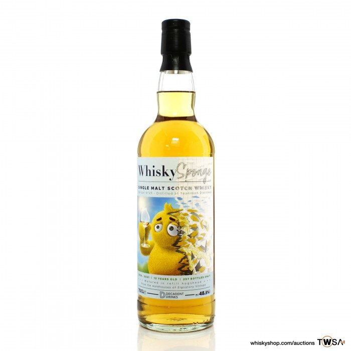 Teaninich 2008 12 Year Old Whisky Sponge Edition No.25