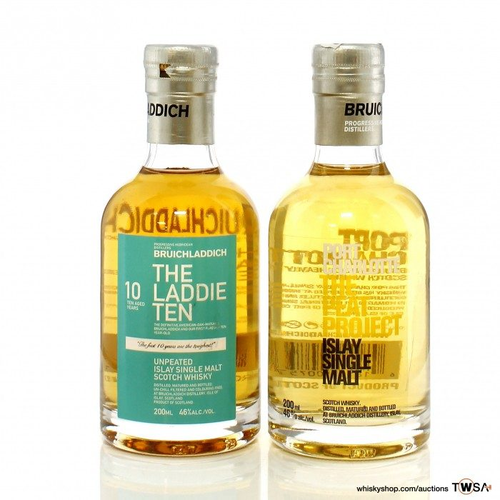 Bruichladdich The Laddie 10 Year Old & Port Charlotte Peat Project