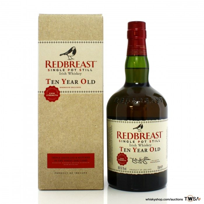 Redbreast 10 Year Old Cask Strength Batch No.1 - Birdhouse Exclusive