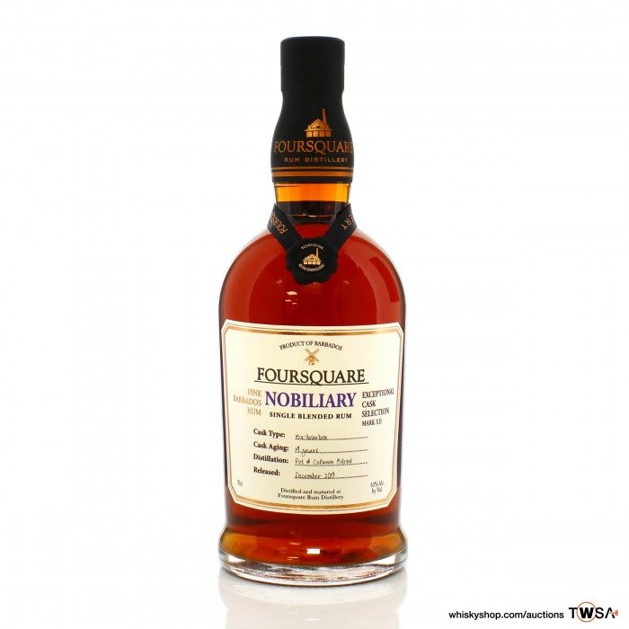 Foursquare 14 Year Old Nobiliary Exceptional Cask Selection