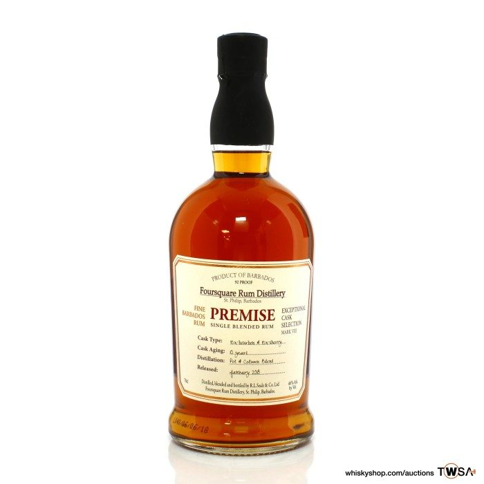Foursquare 10 Year Old Premise Exceptional Cask Selection
