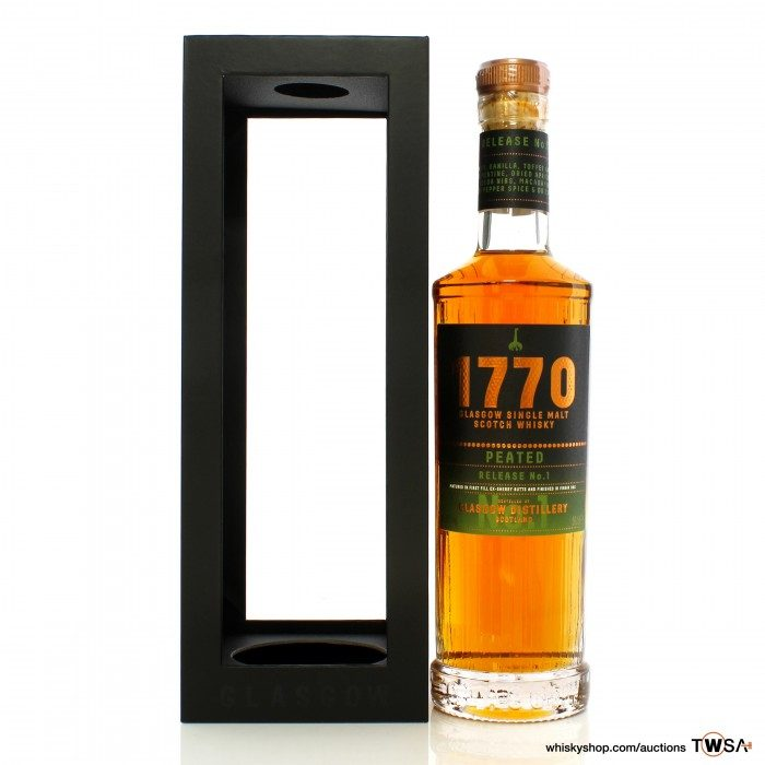 Glasgow Distillery Co. 1770 Peated Release No.1