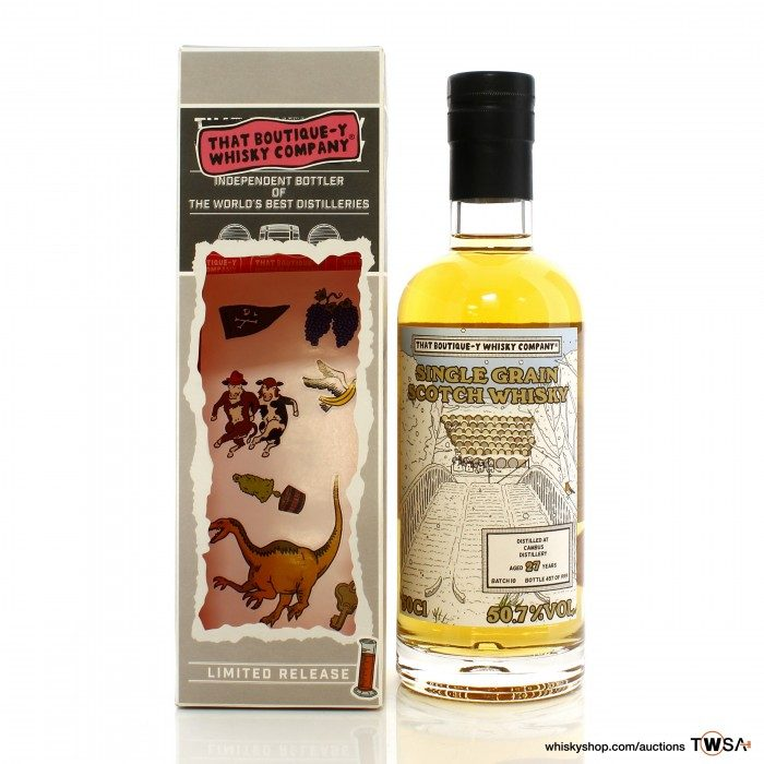 Cambus 27 Year Old That Boutique-y Whiskey Co. Batch #10