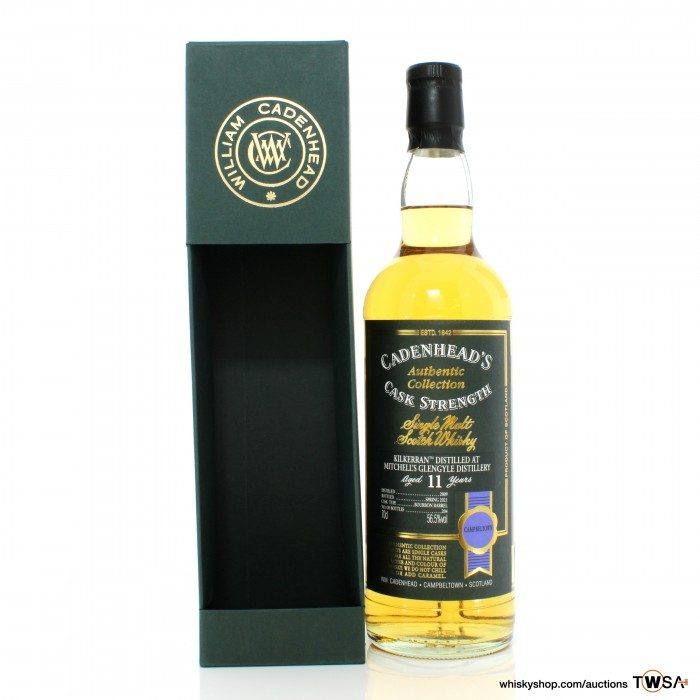 Kilkerran 2009 11 Year Old Cadenhead's Authentic Collection
