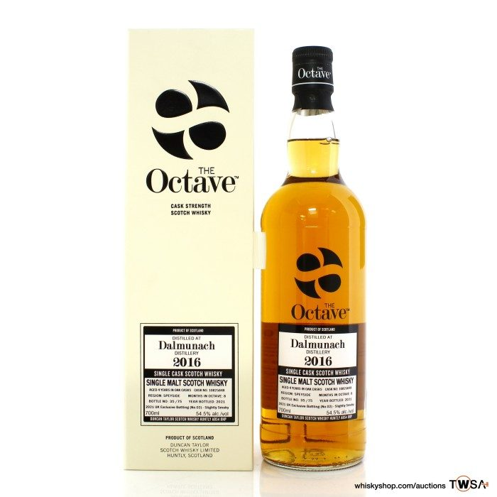 Dalmunach 2016 4 Year Old Single Cask #10825848 Duncan Taylor The Octave - UK