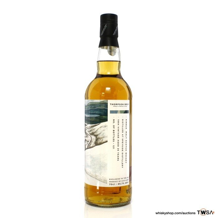 Speyside Distillery 1994 26 Year Old Thompson Bros - UK Exclusive