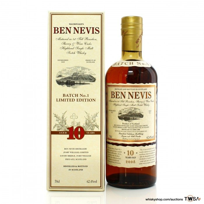 Ben Nevis 10 Year Old Limited Edition Batch No.1