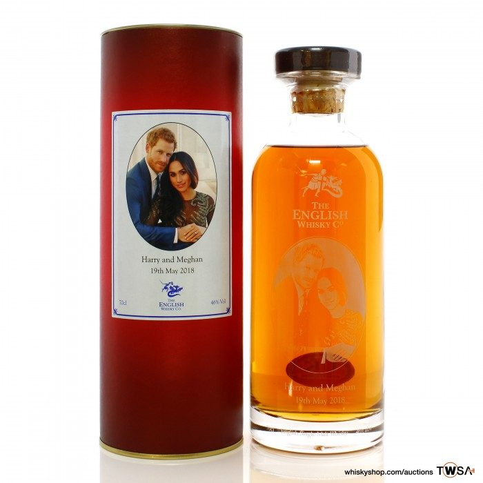 The English Whisky Company Harry and Meghan