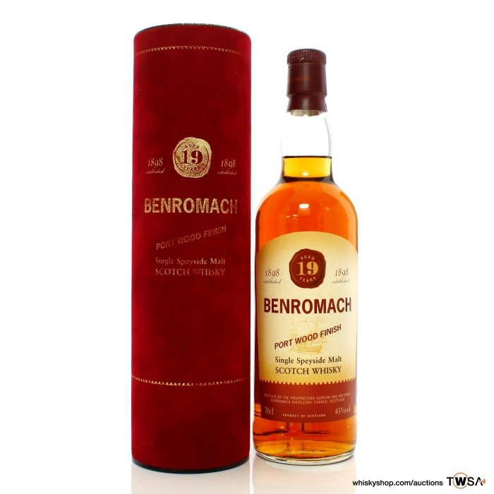 Benromach 19 Year Old Port Wood Finish