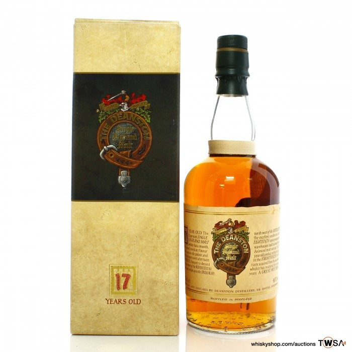 Deanston 17 Year Old 1990s