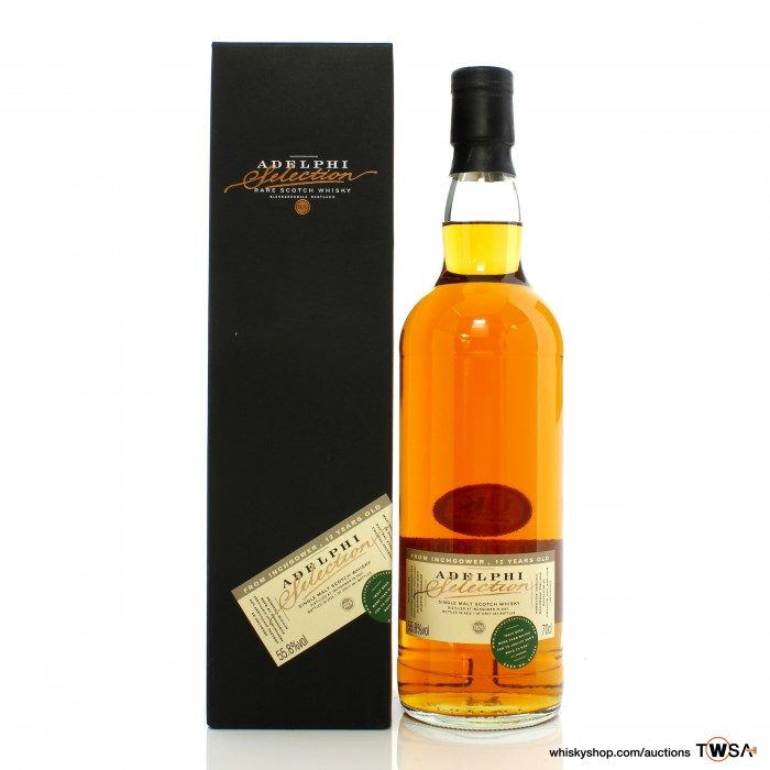 Inchgower 2007 12 Year Old Single Cask #801246 Adelphi Selection