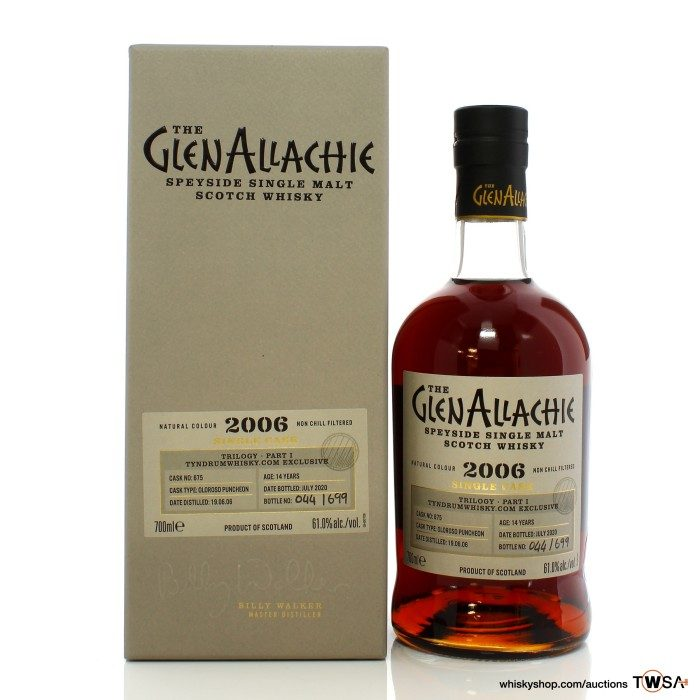 GlenAllachie 2006 14 Year Old Single Cask #675 Trilogy Part 1 - Tyndrum Whisky