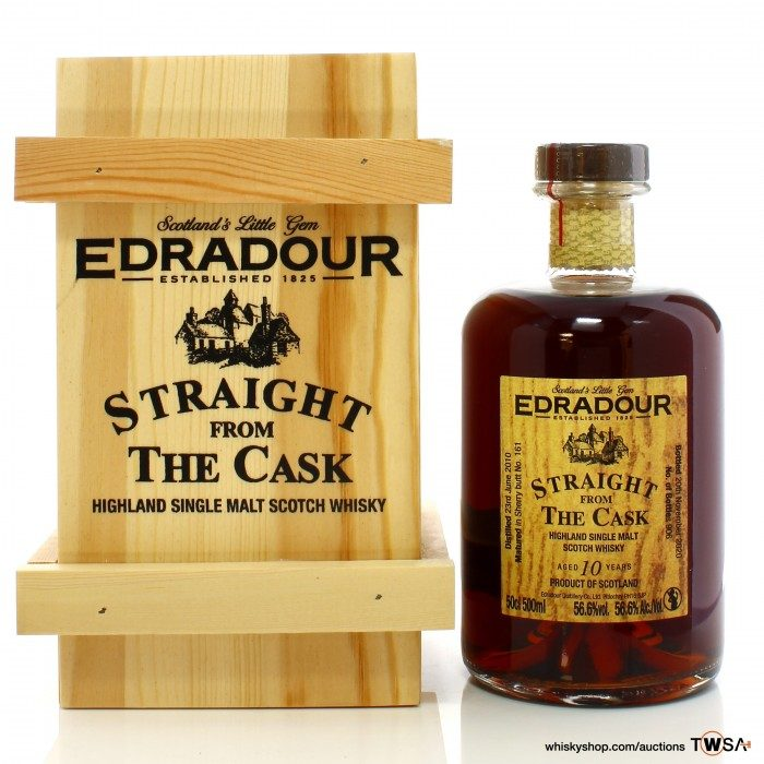 Edradour 2010 10 Year Old Single Cask #161 Straight from the cask