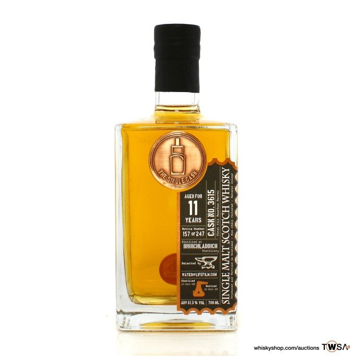 Bruichladdich 2009 11 Year Old Single Cask #3615 The Single Cask - Water of Life