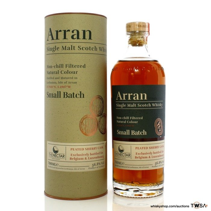 Arran Small Batch Peated Sherry Cask - The Nectar Belgium & Luxembourg Exclusive