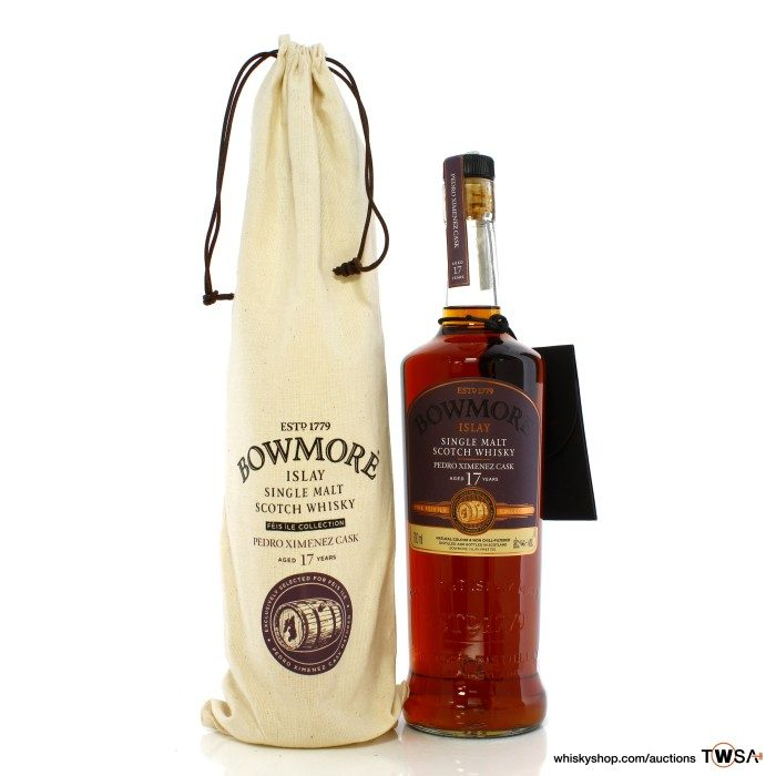 Bowmore 17 Year Old Hand Filled Sherry Feis Ile 2016