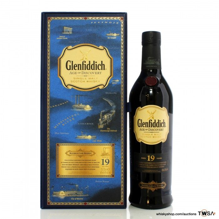 Glenfiddich 19 Year Old Age Of Discovery - Bourbon Cask