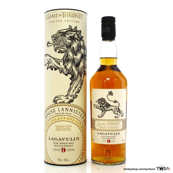 Lagavulin 9 Year Old Game of Thrones - House Lannister