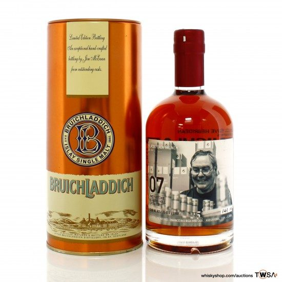 Bruichladdich 1989 24 Year Old Single Cask #R05/135-019 Valinch No.07 - Andy Ritchie