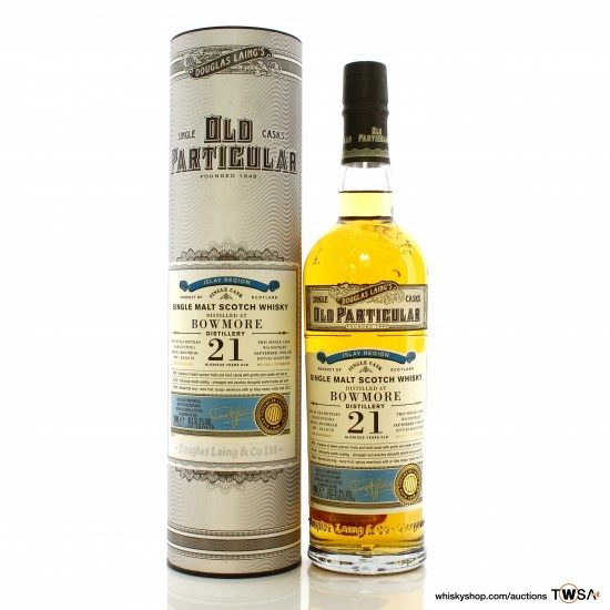 Bowmore 1998 21 Year Old Single Cask #14178 Douglas Laing Old Particular