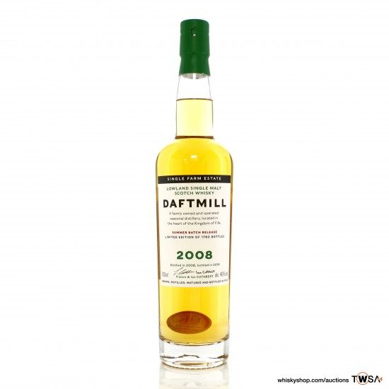 Daftmill 2008 12 Year Old Summer 2019 Release - UK Exclusive