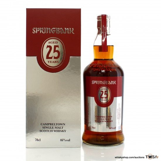 Springbank 25 Year Old 2021 Release