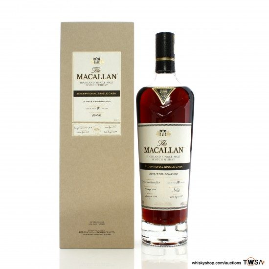 Macallan 1997 22 Year Old Single Cask #5542/02 Exceptional Cask 2019 Release