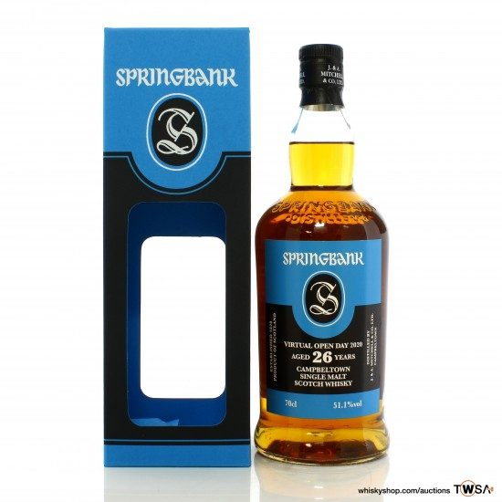 Springbank 1993 26 Year Old - Virtual Open Day 2020