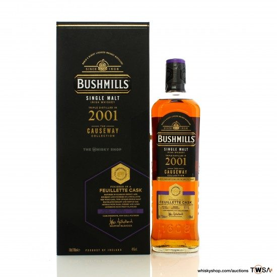 Bushmills 2001 The Causeway Collection - TWS