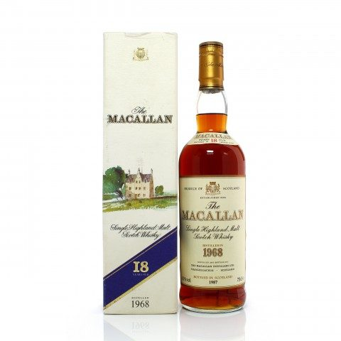 Macallan 1968 18 Year Old Sherry Cask