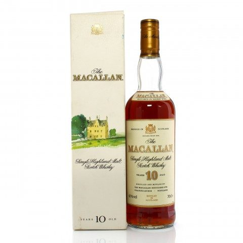 Macallan 10 Year Old Sherry Wood 1990s