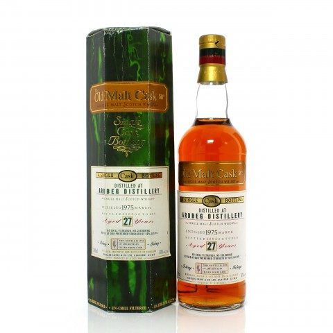 Ardbeg 1975 27 Year Old Single Cask Douglas Laing Old Malt Cask