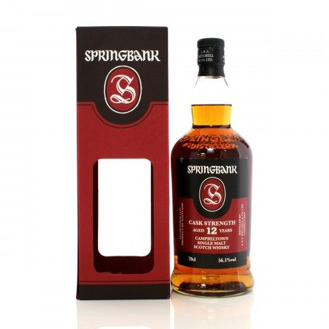 Springbank 12 Year Old Cask Strength