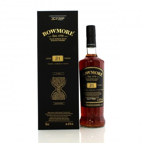 Bowmore 21 Year Old Pedro Ximenez Finish - Travel Retail Exclusive