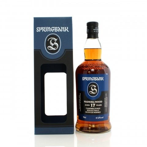 Springbank 2002 17 Year Old Madeira Wood