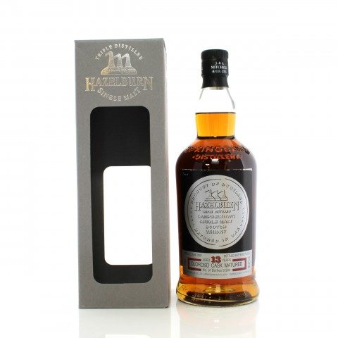 Hazelburn 2007 13 Year Old Oloroso Cask Matured